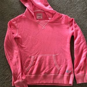 American Eagle Outfitters Tops - American Eagle Pink Hoodie